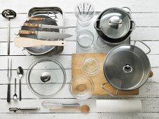 Kitchen utensils for roasting meat