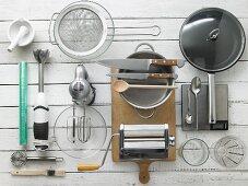 Kitchen utensils for making ravioli
