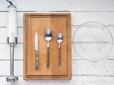 Kitchen utensils for making dips