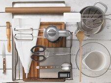 Kitchen utensils for making eclairs