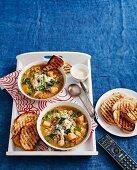 Chicken, Celeriac and Barely Stew