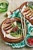 Pork Belly with Asian Greens