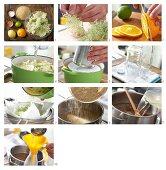 How to make elderflower syrup