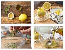 How to prepare thyme & honey marinade