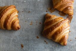 Butter croissants (France)