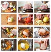 How to prepare Kasseler Rippenspeer (salted and smoked rib of pork)