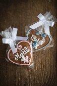Gingerbread hearts for Oktober Fest