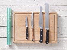 Kitchen utensils for making sandwiches