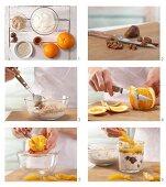 How to prepare fresh grain and fig muesli