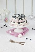 Blueberry pavlova tarr