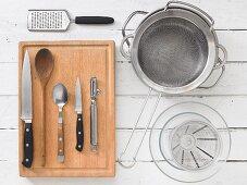 Utensils for pasta dishes