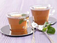 Citrus tea with herbs