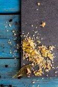Pecan nut brittle