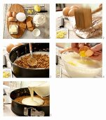How to make a New York cheesecake with a wholegrain biscuit base