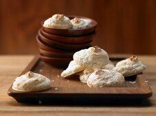 Kokosmakronen mit feinem Limettenaroma