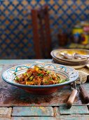 Tagine of lamb and green beans (North Africa)