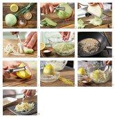 How to make kohlrabi with toasted sesame seeds