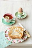 Soft Boiled Eggs with Toast