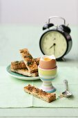 Soft-Boiled Eggs with Herb Soldiers