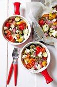 Roast vegetable ratatouille