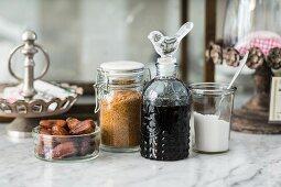 Vegan sweeteners for raw baking