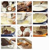 How to make Cuban chocolate and coffee bean granita