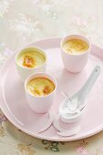 Creamy Ginger and Coconut Pots