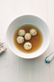 Bouillon with dumplings