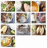 How to make Thai chicken soup with curry