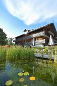 The Pausnhof organic hotel in St. Oswald in the Bavarian Forest, Germany