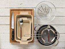 Kitchen utensils for making wine