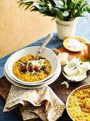 Winter Fare Roast Pumpkin and Verjuice Risotto