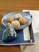 Rice balls with sesame seeds (Japan)