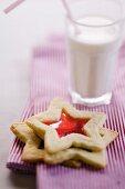 Glass christmas cookies