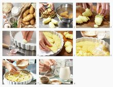 How to prepare potato gratin