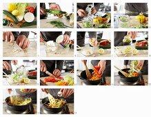 How to make vegetable gyros