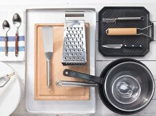 Kitchen utensils for making rostis