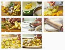 How to make shrimp pizza