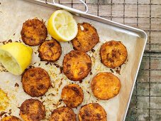 Spicy sweet potatoes with curry and cumin