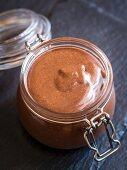 Homemade Nutella chocolate spread