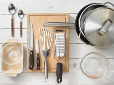 Utensils for fish dishes