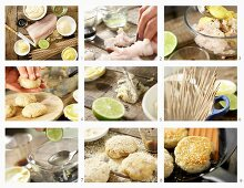 How to make Japanese pollock burgers with ginger mayonnaise and soba noodles