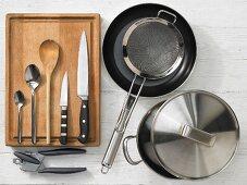 Kitchen utensils for making pasta