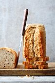 A loaf of bread made with spelt