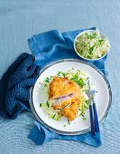 Crumbed Pork Chops with Apple Salad