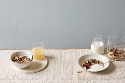 Gluten-free yoghurt muesli