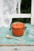 Ajvar in a jar