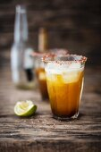 Michelada (beer mix drink, Mexico)