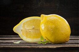 Zitronen und Verbene