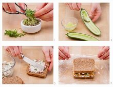 How to prepare a wholegrain sandwich